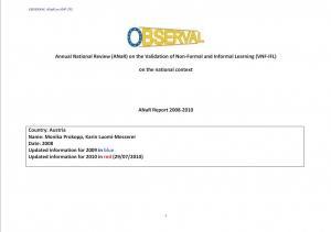 Austria - Annual National Report 2008-2010