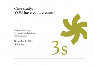 Case Study: You have competences!