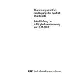 Germany - Neuordnung des Hochschulzugangs für beruflich Qualifizierte