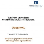 Iceland: European University Continuing Education Network