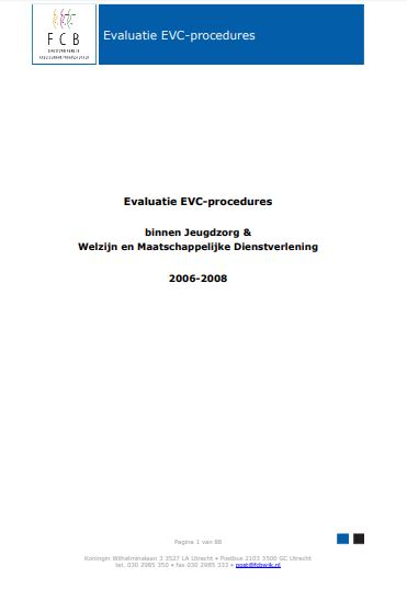 Netherlands - Formal Documents 2008 7 (Evaluatie EVC-Procedures, in Dutch language)