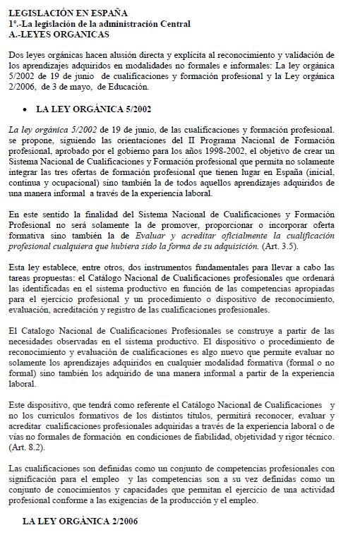 Spain - Formal Documents 2 2008 (Legislación, Spanish)