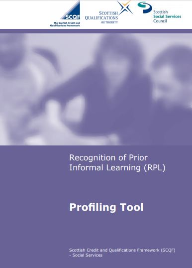 UK - Report - Recognition of Prior Informal Learning, Profiling Tool