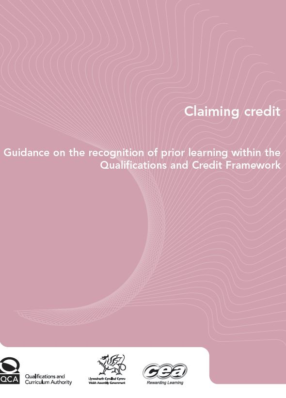 UK - Guidance on the Recognition of Prior Learning