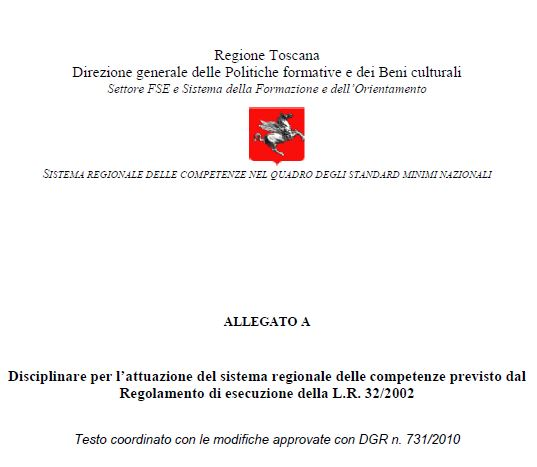 Italy - Formal Documents 14 - Toscana RRFP