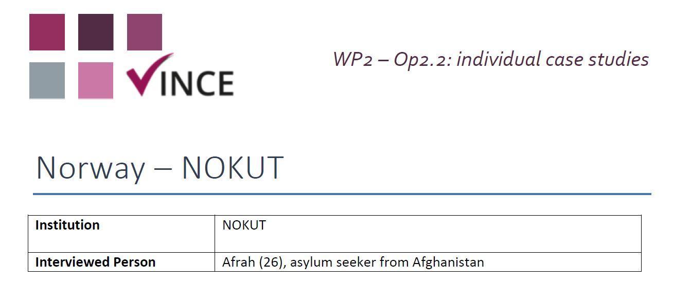 NO - Case Study 4 - Refugee
