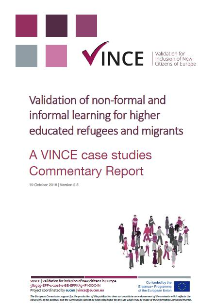 VINCE Case Studies Report