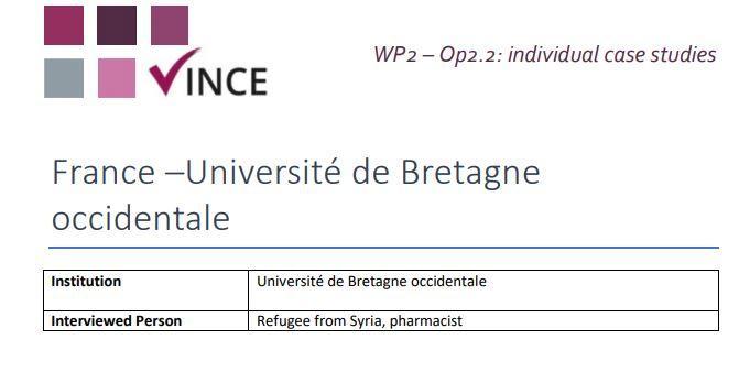 France - Case Study 5 - Refugee