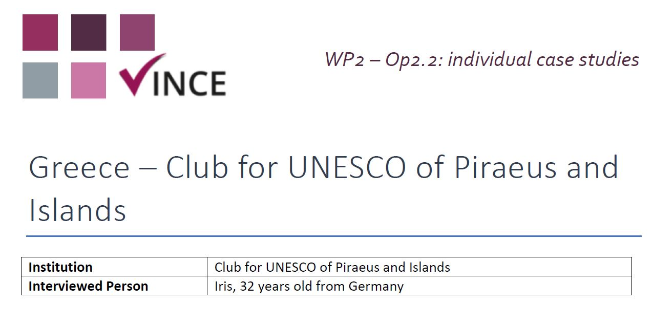 GR - Case Study 1 - Club for UNESCO of Piraeus and Islands