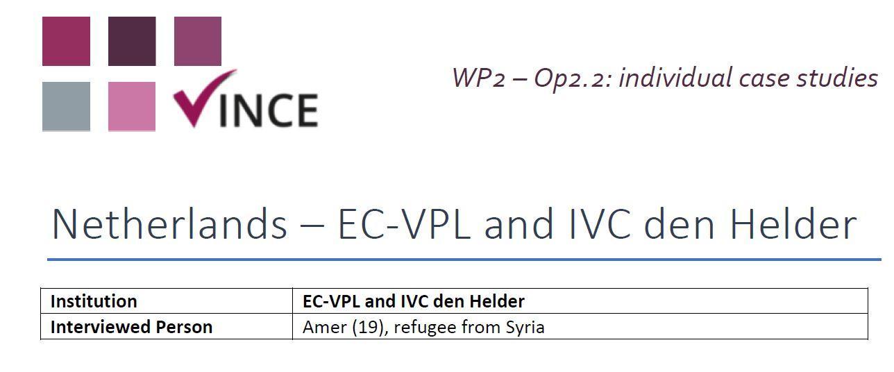NL - Case Study 2 - Refugee
