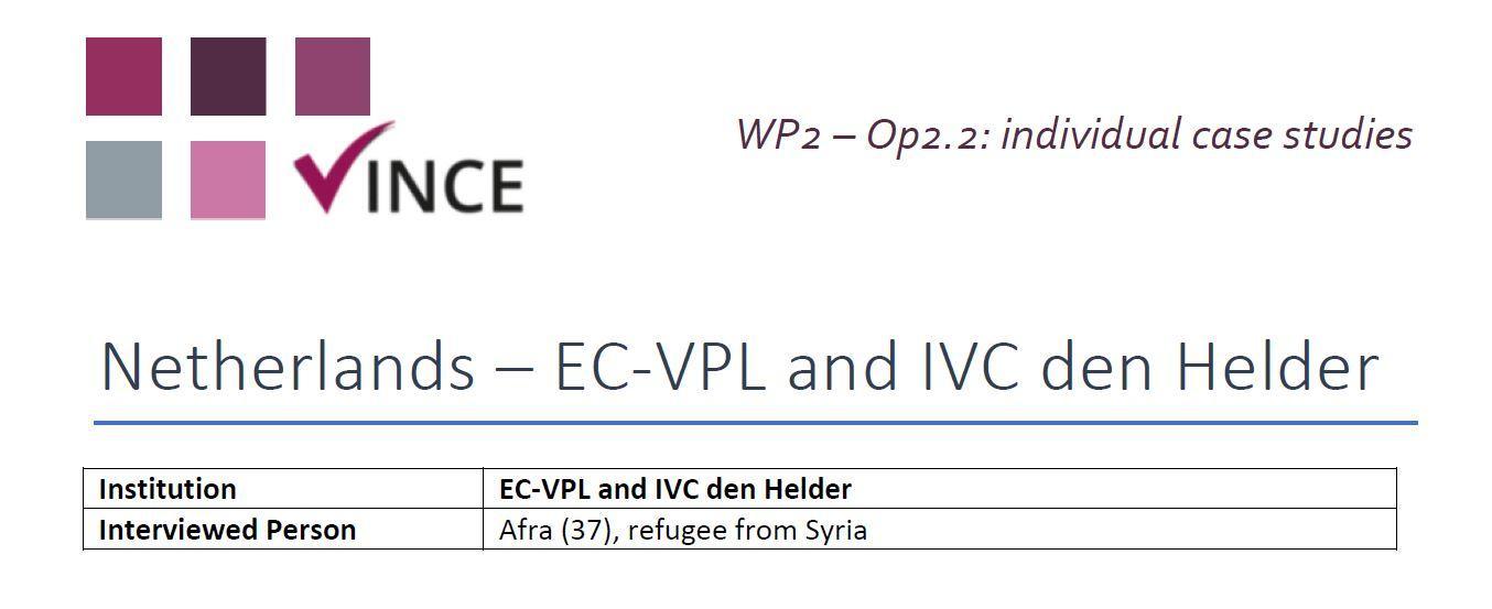 NL - Case Study 3 - Refugee